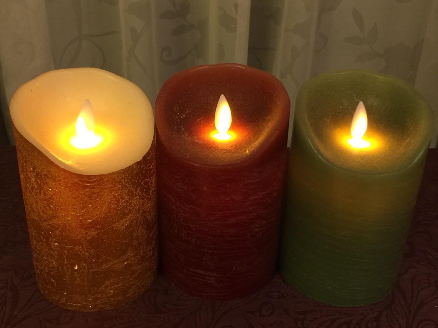 クリスマスにおすすめ!火を使わないムービングキャンドル「ルナーテ」